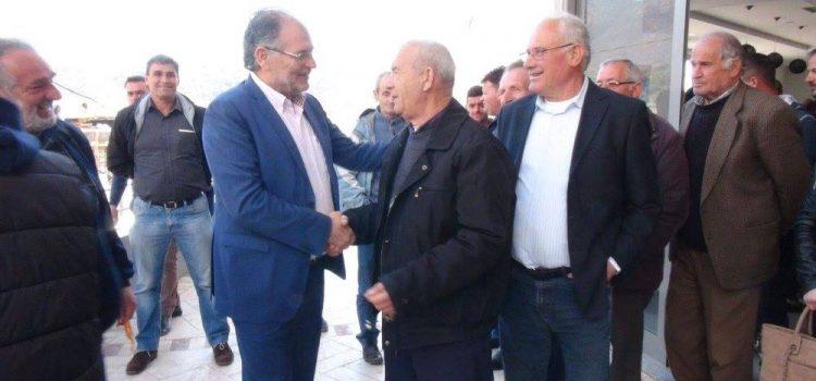ZGJIDHJA, takim me socialistët dhe mbeshtetësit në Himarë