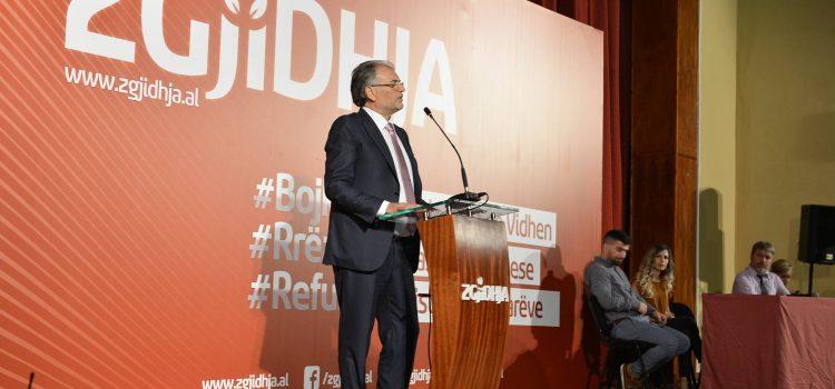 Intervista e kryetarit të ZGJIDHJA-s, Koço Kokëdhima, në Radio Tirana