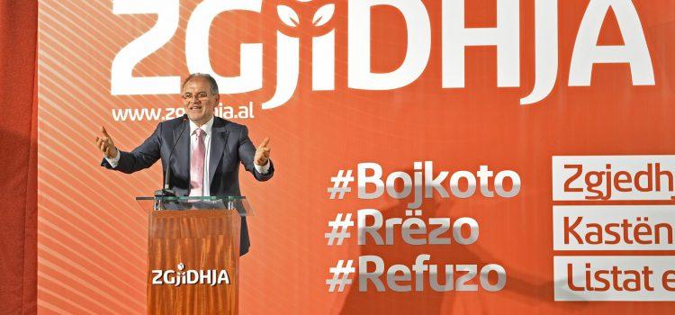 Kokëdhima në takimin me anëtarët e ZGJIDHJES në Vlorë