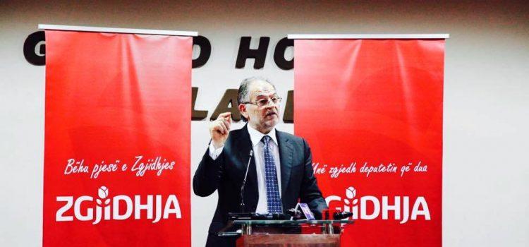 Fjala e Kokëdhimës në takim me mbështetësit e ZGJIDHJES në Korçë