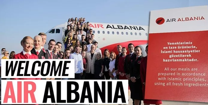 'Air Albania' ose 'Hallall Airlines' me pilotë e pasagjerë të bërë synet, që hanë bakllava dhe mallkojnë domuzin